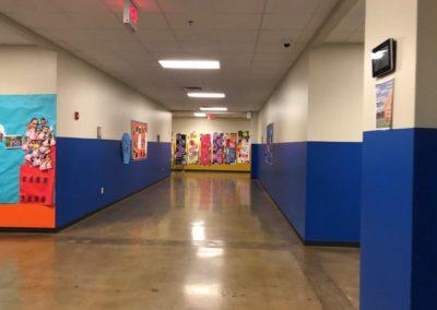 Knowledge Academy Hallway