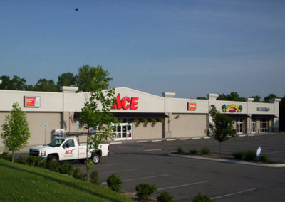Ace Hardware & Retail Shops in Strip Mall