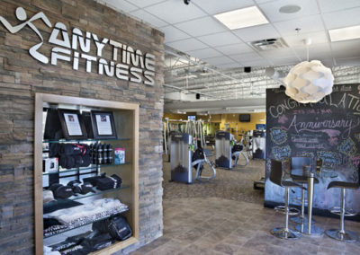 Anytime Fitness - Commercial Construction by Hardcastle Construction