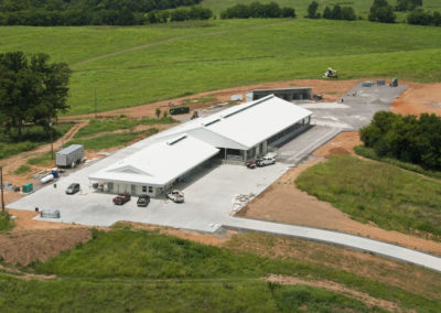 Commercial Construction Project - MTSU Dairy Farm