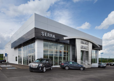 Commercial Construction - Serra GMC-Buick
